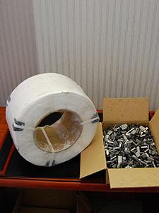 Лента упаковочная полипропиленовая 15 мм.