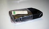 Пакеты для упаковки колес с фирменной печатью 600(фальц 150) х 1000 мм.