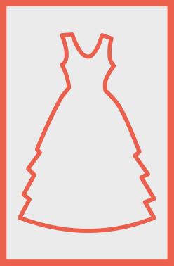 Пакеты-чехлы для свадебных платьев