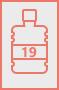Пакеты для бутыли 19 литров